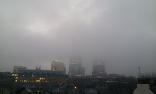 The Shard in Fog