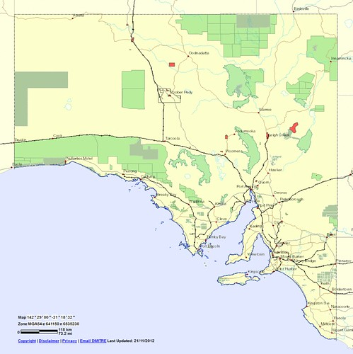 sa 02 - south australia - reserves with restricted exploration or none