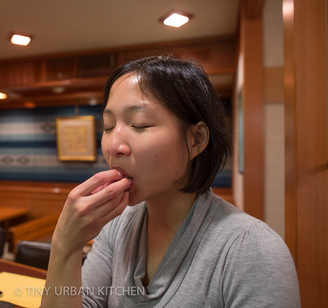 Jen at Sushi Jiro
