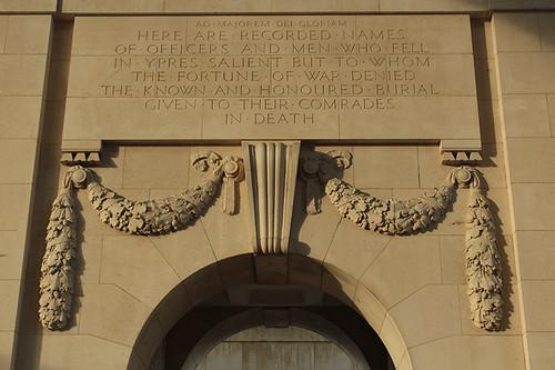 Menin Gate inscription