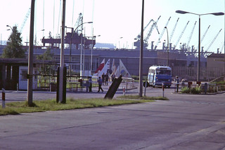 Customs post outside Rostock port