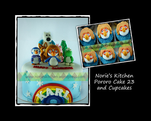 Norie's Kitchen - Pororo Cake 23 and Cupcakes by Norie's Kitchen