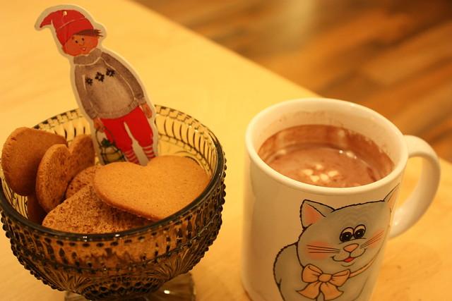 Kakó og piparkökur