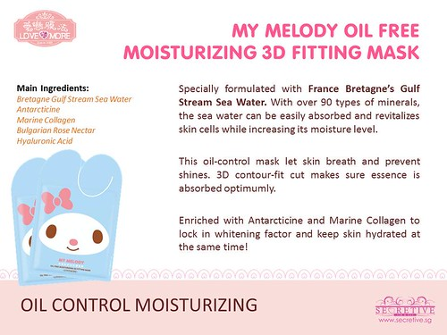 My Melody Oil Free Moisturizing 3D Fitting Mask PR.jpg.jpg
