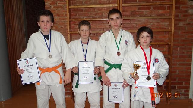 Iš kairės D.Vaitkus, M.Narkus, R.Bogužas ir O.Urbonas