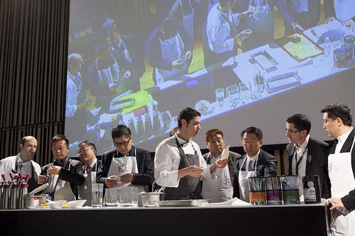 Visita de cocineros chinos a Basque Culinary Center