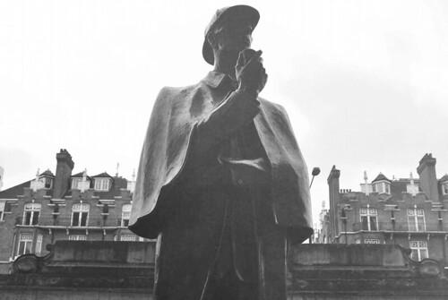 Sherlock Holmes at Baker Street. (86/365)