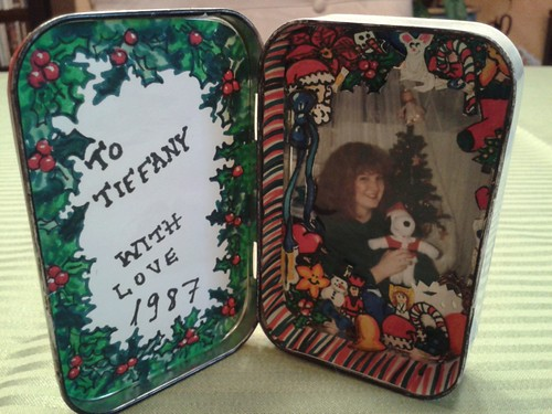 Altoids box picture frame