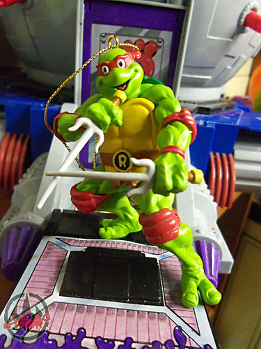 "AMERICAN GREETINGS :: TEENAGE MUTANT NINJA TURTLES - ""RAPHAEL"" Ornament iii (( 2012 ))"