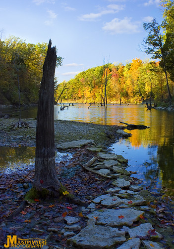 park autumn sunset ohio lake fall nature leaves creek landscape colorful state wildlife caesar foliage