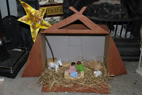 Nativity Scene Small World Play (Photo from The Imagination Tree)