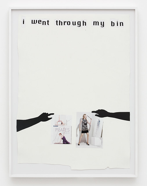 Frances Stark, I went through my Bin, 2008