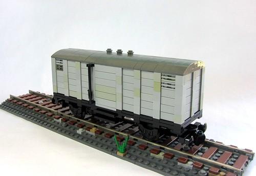 Grey Boxcar