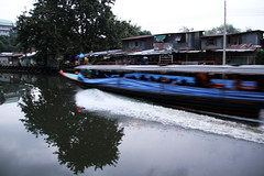 Klong boat