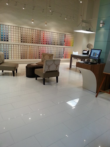 Paint chip heaven at Benjamin Moore in the San Francisco Design Center