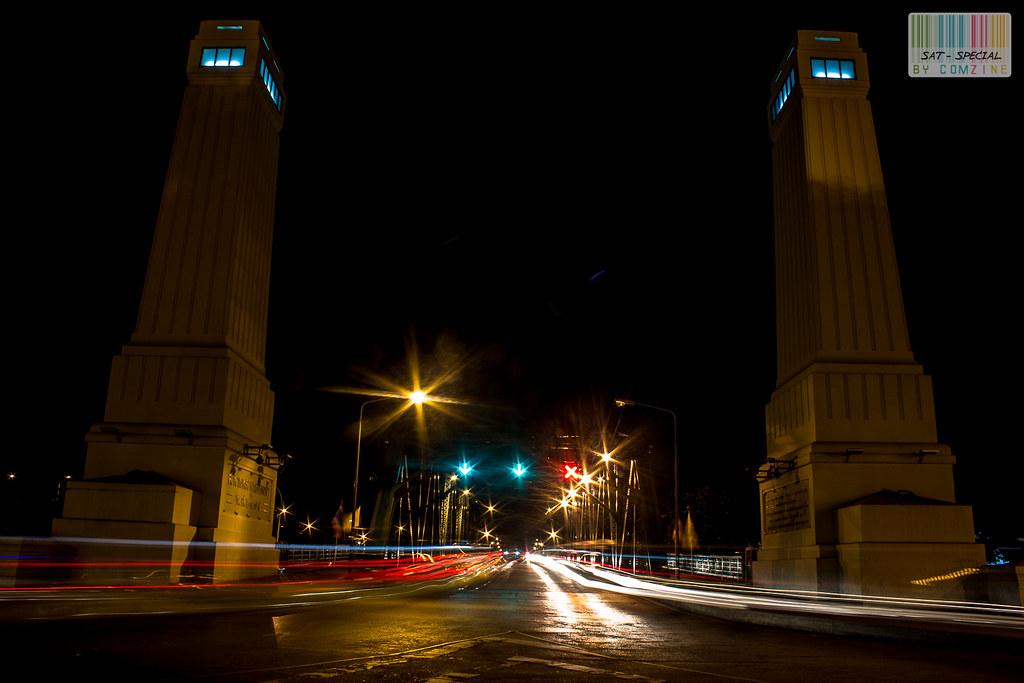 เดินเล่นกลางคืน สะพานพระพุทธฯ comzine 01