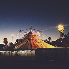 #pretty #night in #barcelona #circus #lights