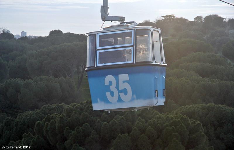 Teleférico de Madrid 2012