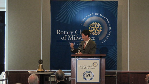 Mark Green Event with Rotary on December 4, 2012.