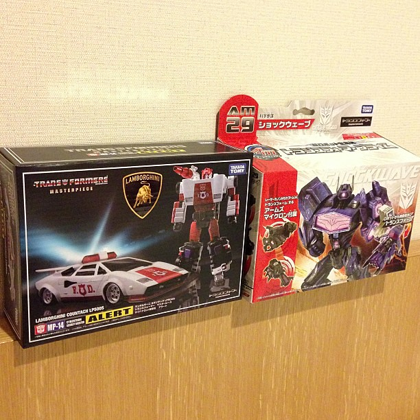 Transformers loot from Akiba #transformers