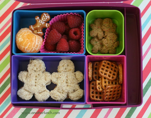Gingerbread Man  Laptop Lunches bento box