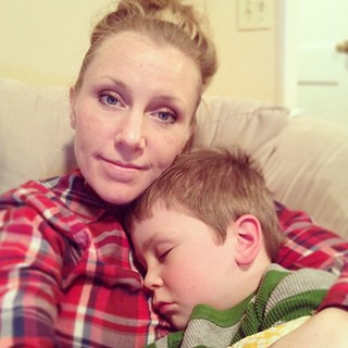 Friends, we're both still here. I just can't put him down. I want to hold him forever. And ever. #mychildmyheart