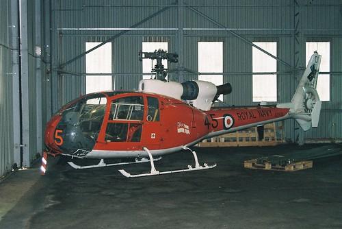XZ938/45-CU Gazelle HT.2