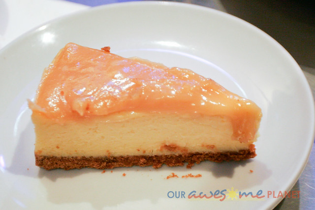 Durian de leche Cheesecake