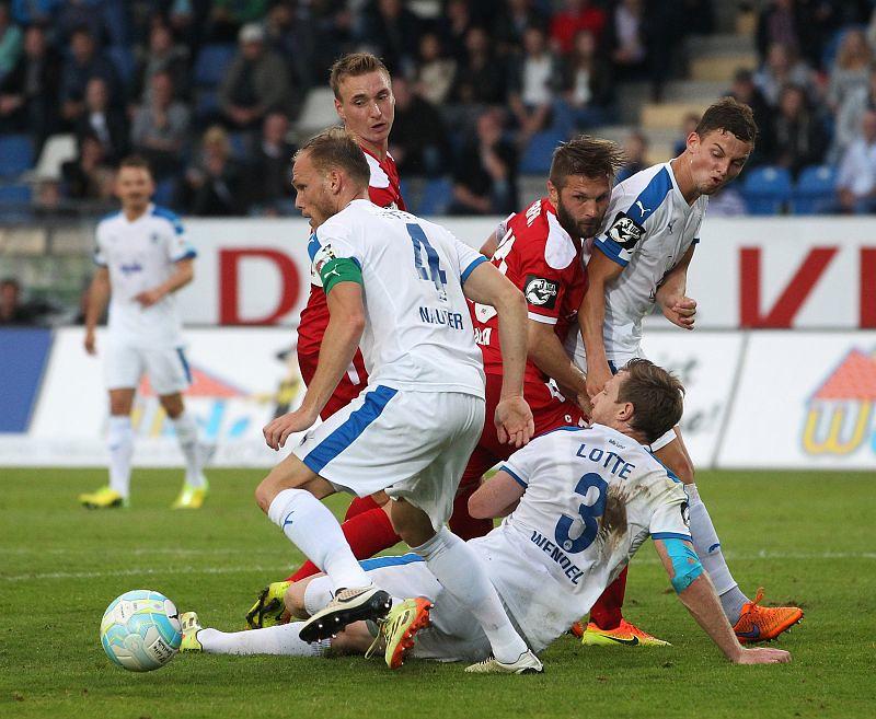 12.08.2016  SF Lotte - FC Rot-Weiß Erfurt 2-2, Foto: Frank Steinhorst - Pressefoto