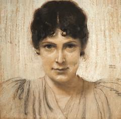 Portrait de Marie Lindpainter de F. von Stuck (Villa Stuck, Munich)