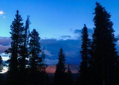Nearing sunset. Breckenridge, CO.