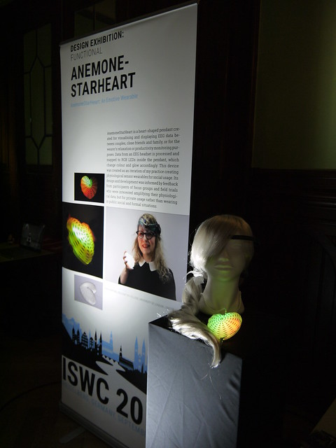 AnemoneStarHeart ready for ISWC Design Exhibition