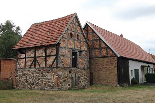 Mittelalterliches Speichergebäude von 1561 (
