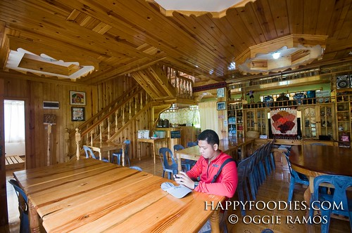 The Misty Lodge Dining Area