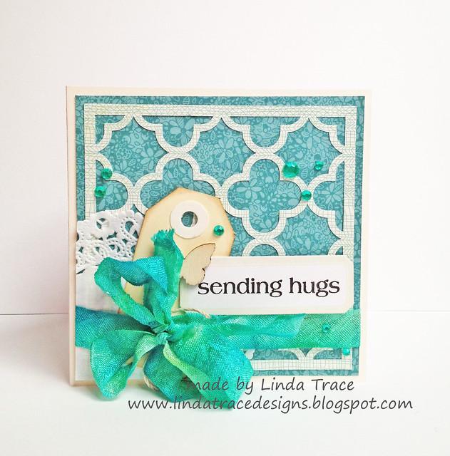 silhouette sending hugs