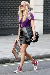 Fearne Cotton Converse Celebrity Style Women's Fashion
