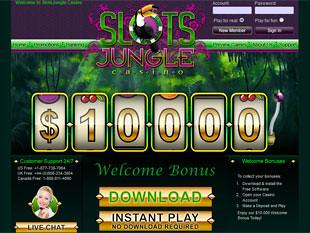 Slots Jungle Casino Home