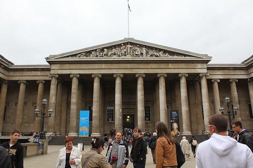 British Museum: l'ingresso
