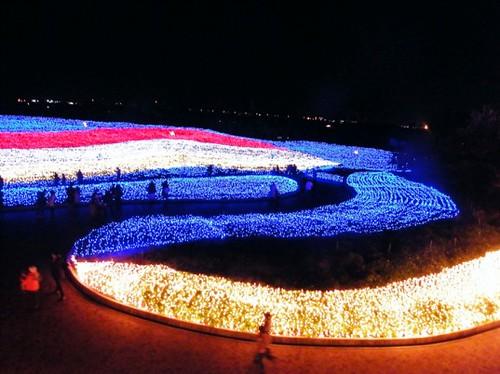 Миллионы LED-ламп преобразили японский ботанический сад в зимнюю страну чудес (Фото)