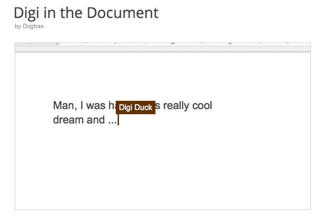 Digi in the Doc