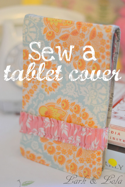 DIY kindle cover tutorial