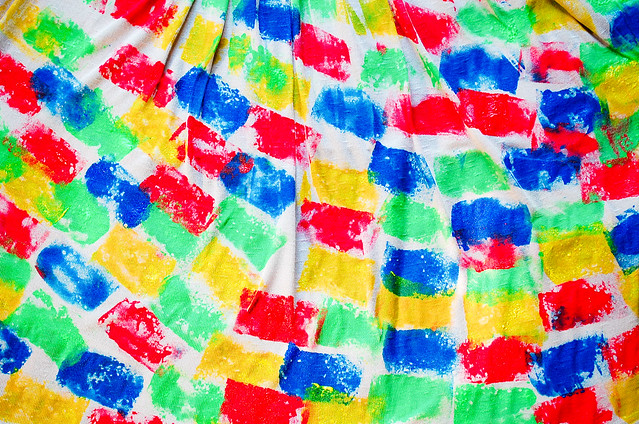 DIY Sponge Paint Dress, Denise Katipunera, diy, do-it-yourself