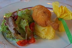Chicken Kiev & Mashed Potatoes