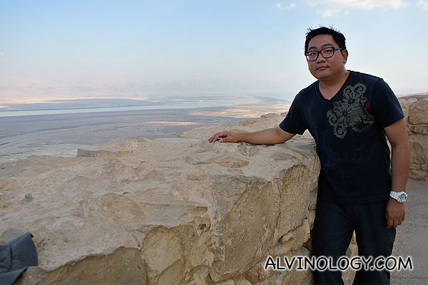 Me at the top of Masada fort
