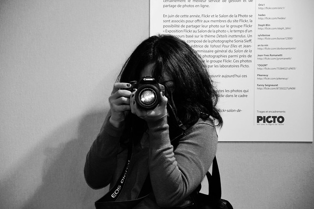 Rencontre Flickr, Salon de la photo, Samedi 10 novembre