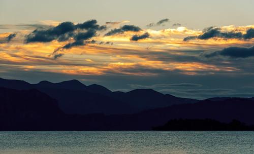 sun lake mountains water japan night clouds sunrise aomori 日本 touhoku 青森 十和田湖 towada 日の出 akitaprefecture kazunodistrict pwpartlycloudy