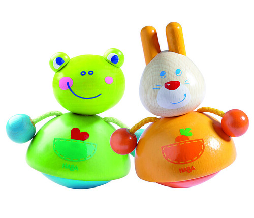 HABA Bobbing Bunny and Quaking Frog
