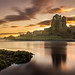 Ogmore Castle Sunrise by Paul_Forsyth