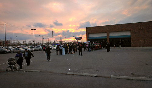 Early Voting Lines in Columbus, Ohio - 2012 Elections