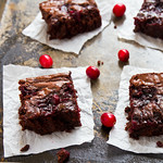 Cranberry Sauce Brownies